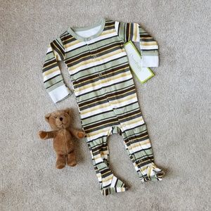 NWT L'ovedbaby Footed Gloved-Sleeve Overall